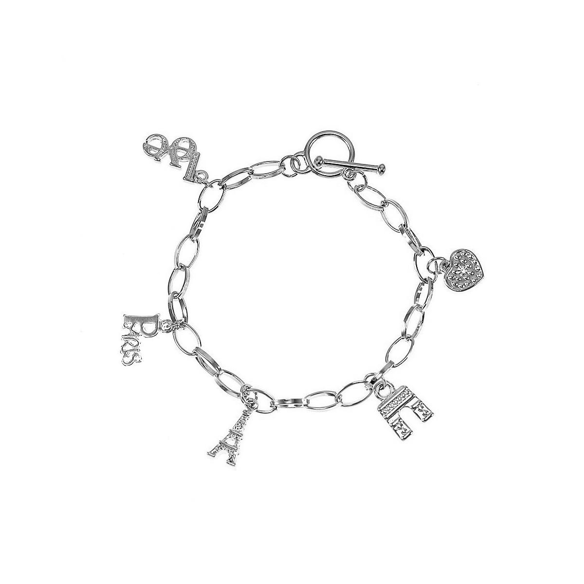 BP008 Bracelet Tour Eiffel et monuments