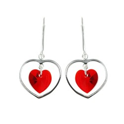 Boucles d'oreilles coeur So...