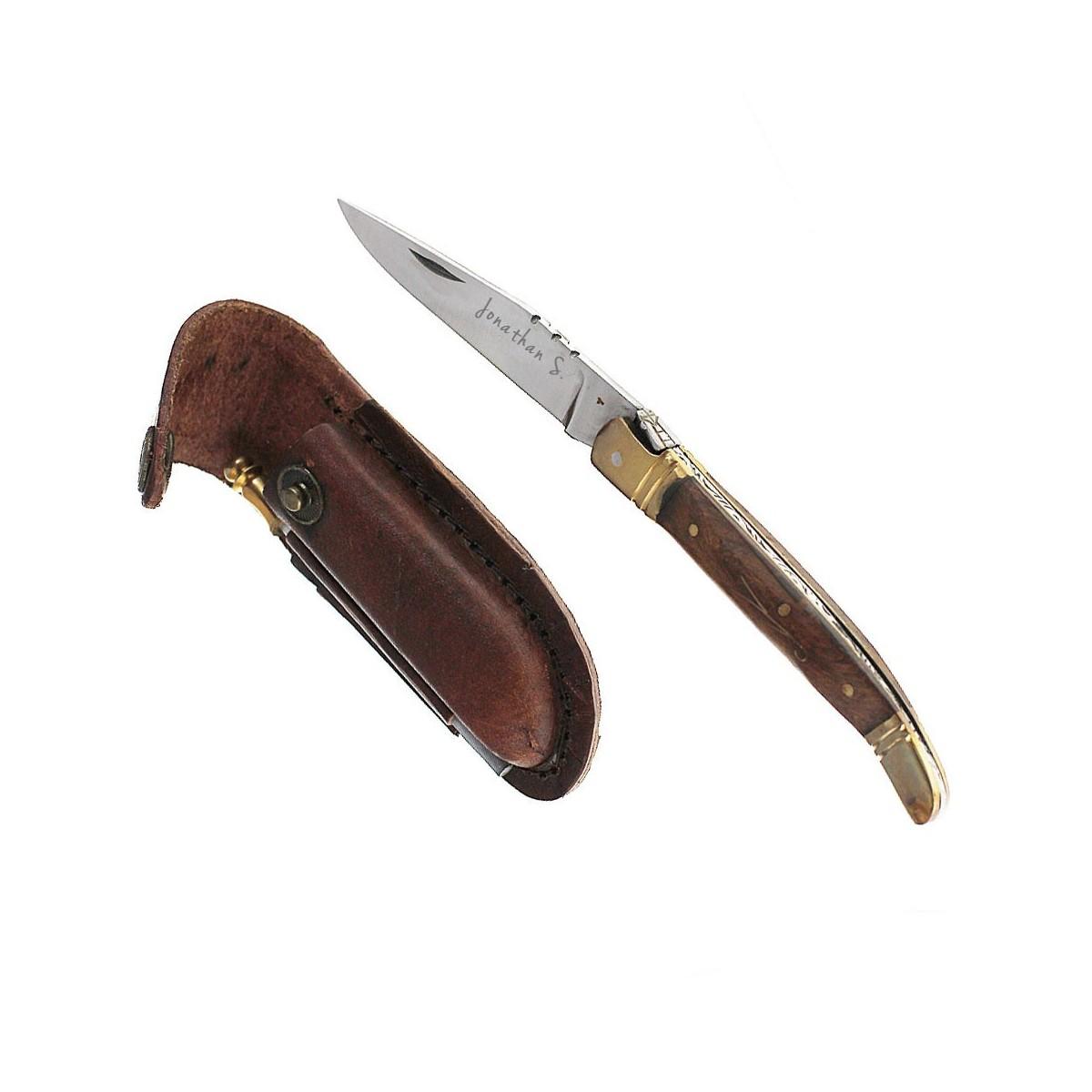 GRAV018 Couteau Laguiole à graver
