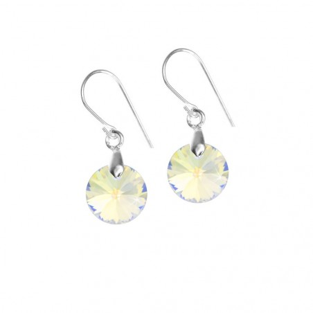 Boucles d'oreilles So Charm made with crystal from Swarovski irisé