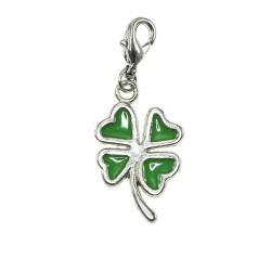 BR01 green clover charm charm
