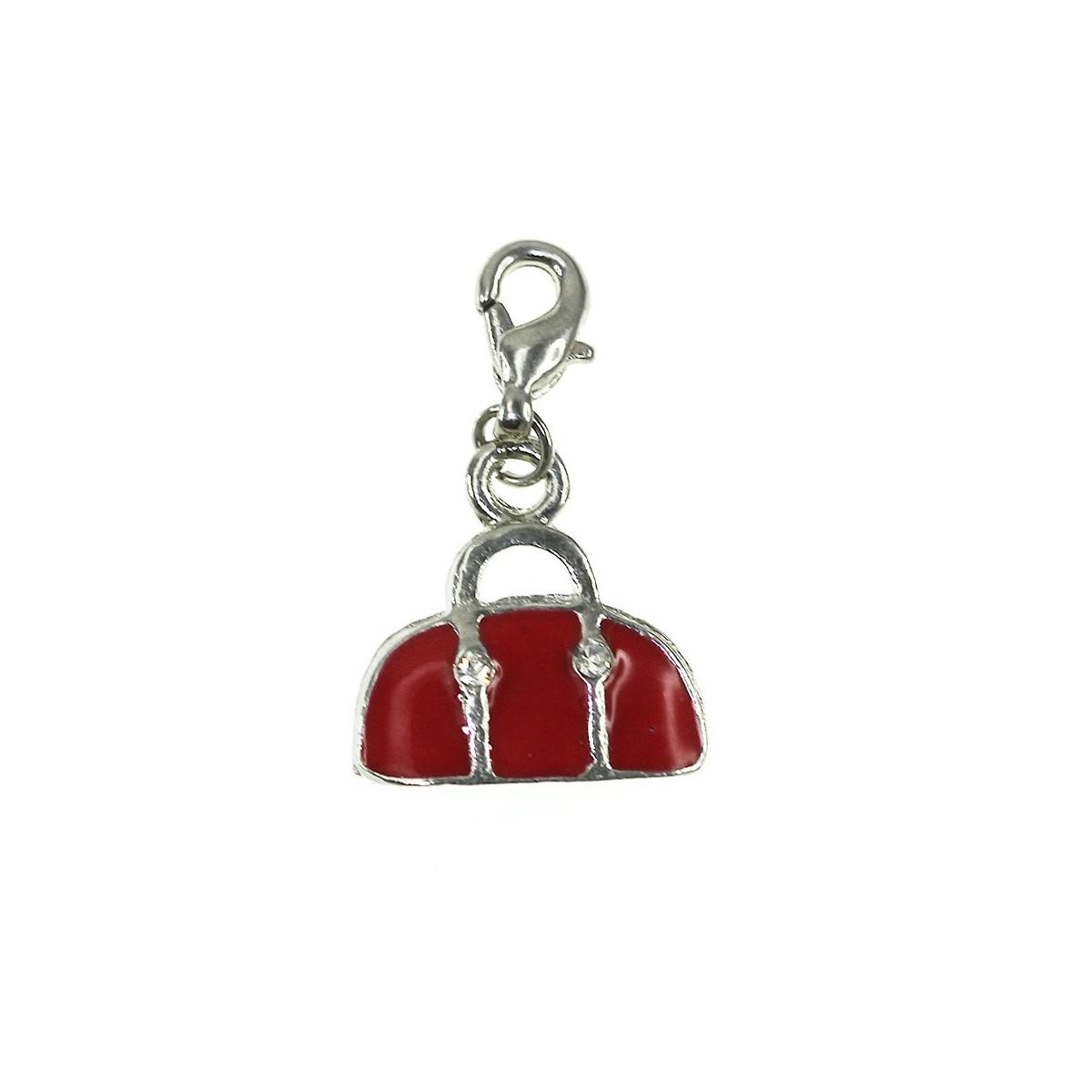 Breloque charm sac rouge So Charm