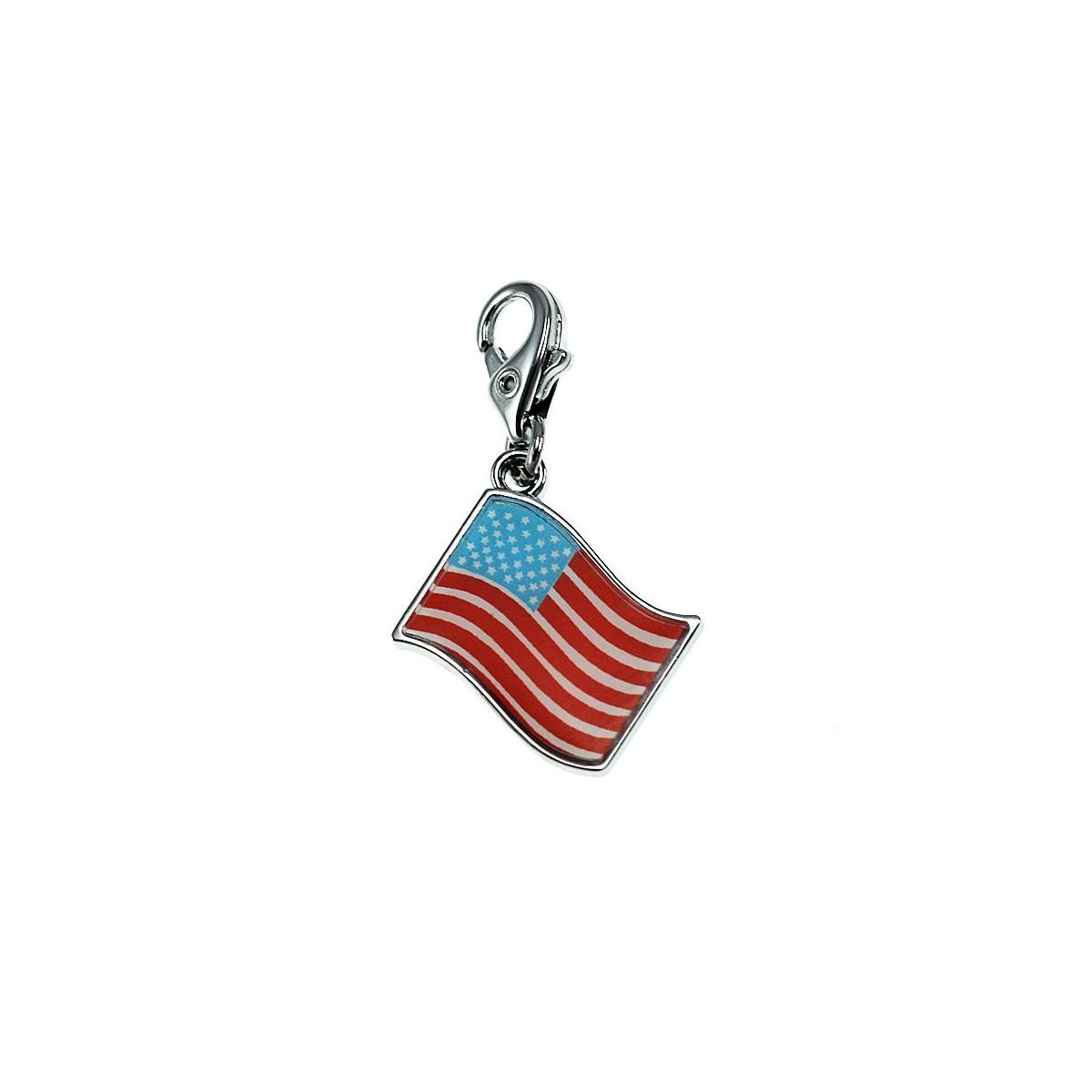 Charm drapeau américain So Charm