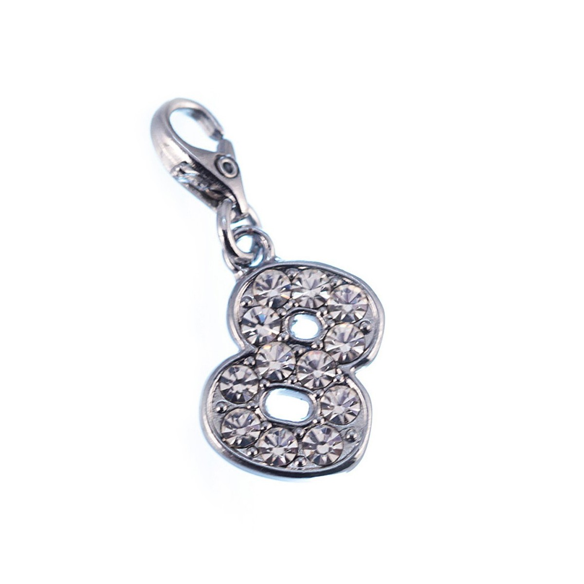 Charm Chiffre 8 So Charm made with Crystal from Swarovski