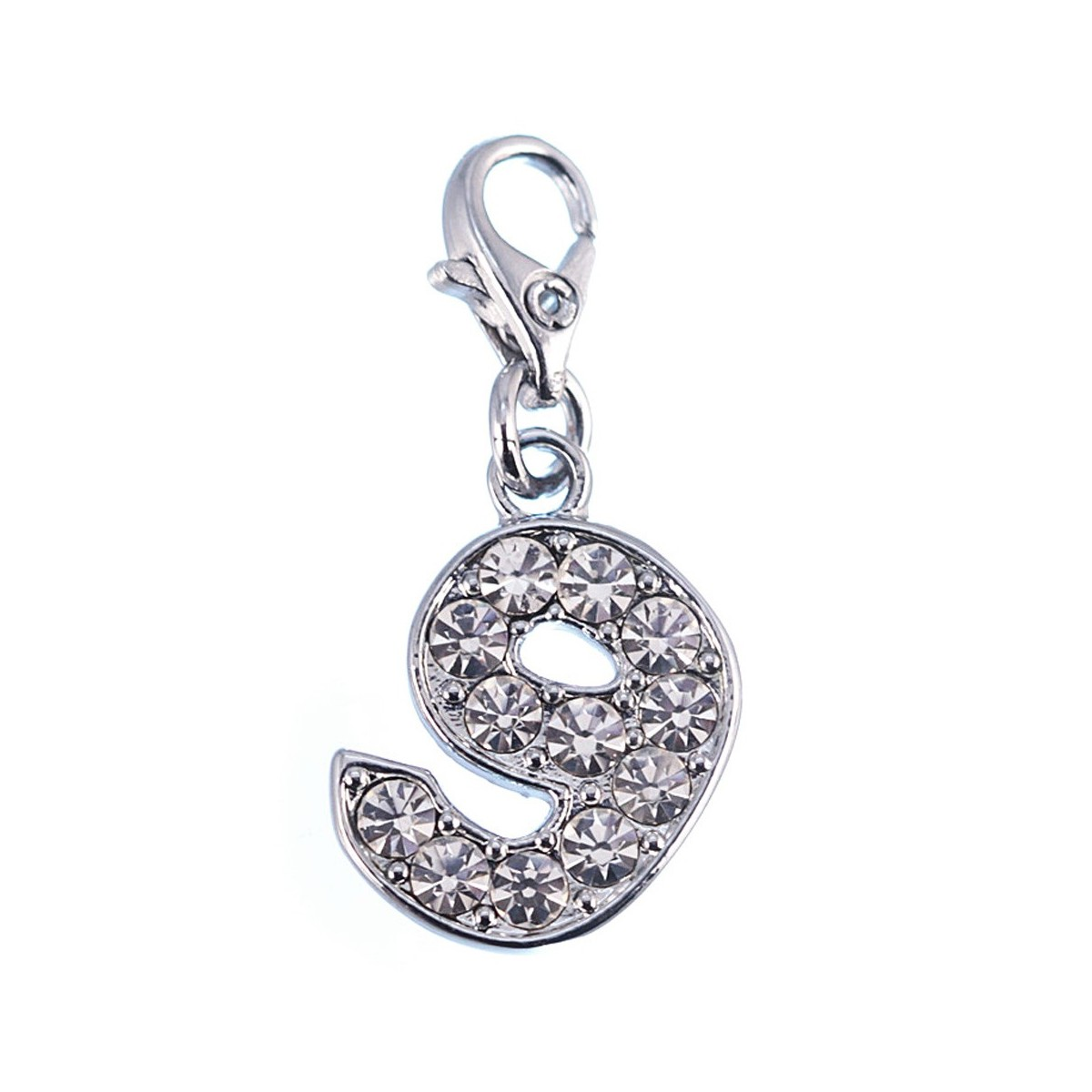 Charm Chiffre 9 So Charm made with Crystal from Swarovski