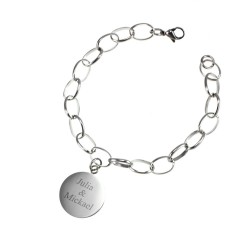 Stainless steel bracelet to...