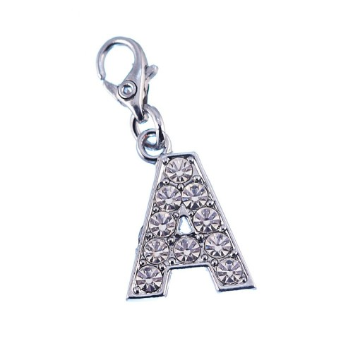 Charm Lettre A strass So Charm