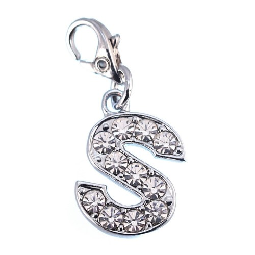 Charm Lettre S strass So Charm