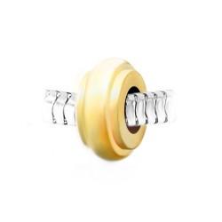 BR01 ruedas en acero dorado...