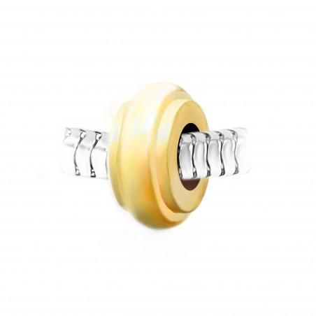 Espaceur roue en acier doré par So Charm