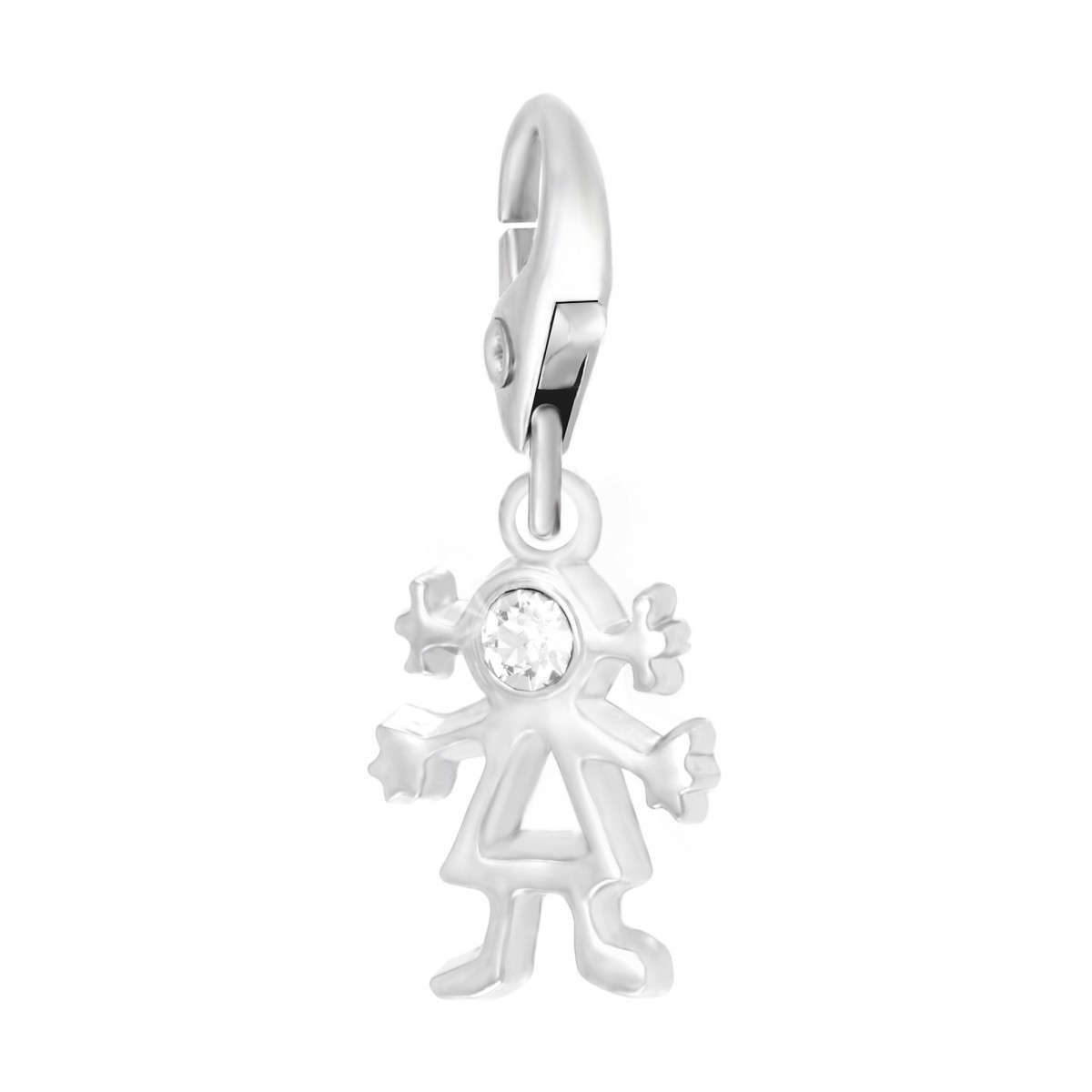 Charm fille So Charm made with Crystal from Swarovski