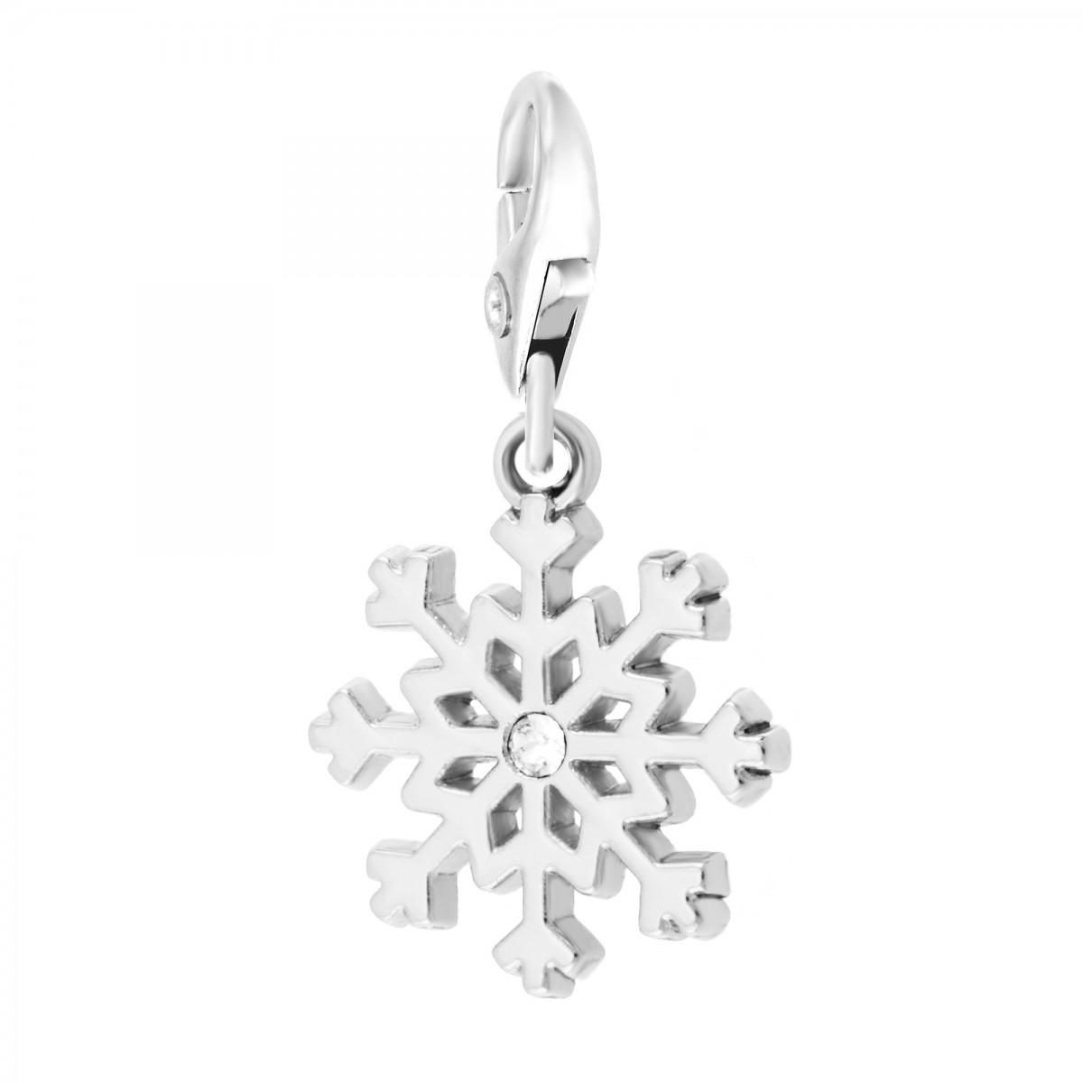 Charm Flocon de neige So Charm made with Crystal from Swarovski
