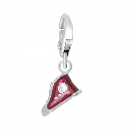 Charm chaussure rouge So Charm orné de cristaux SWAROVSKI® ELEMENTS