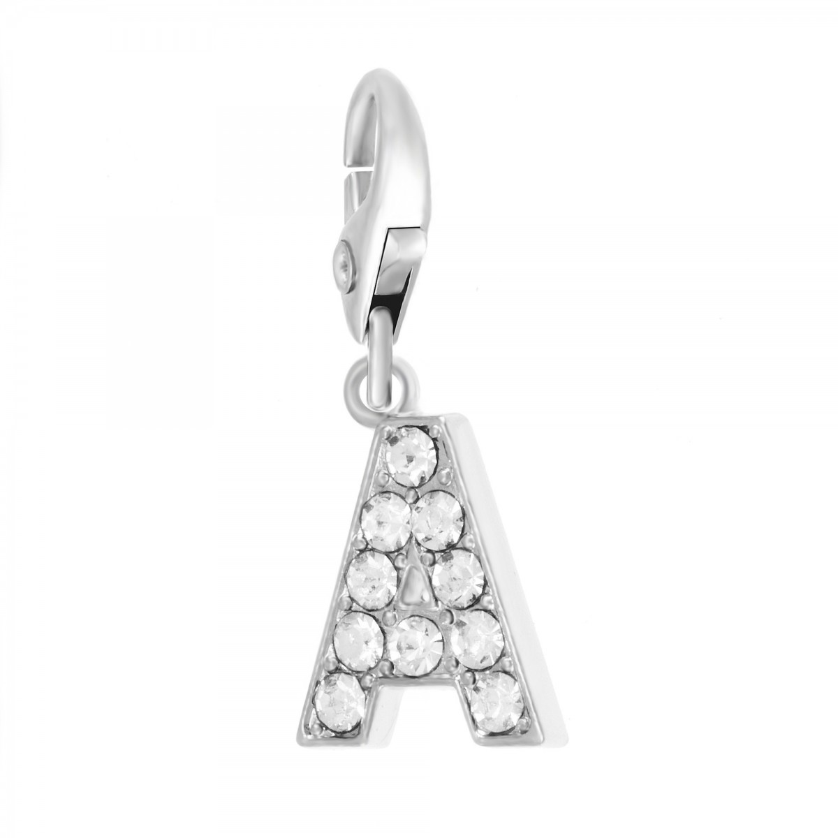 Charm Lettre A So Charm made with Crystal from Swarovski