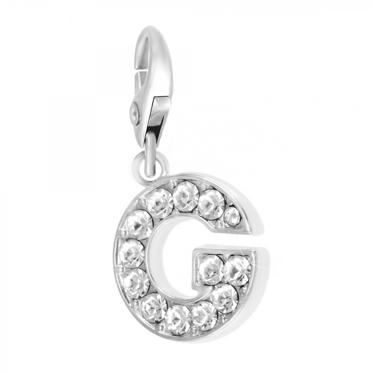 Charm Lettre G So Charm made with Crystal from Swarovski