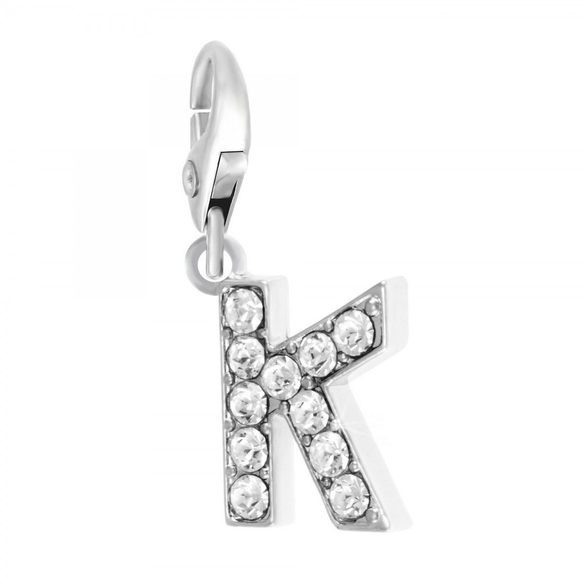Charm Lettre K So Charm made with Crystal from Swarovski