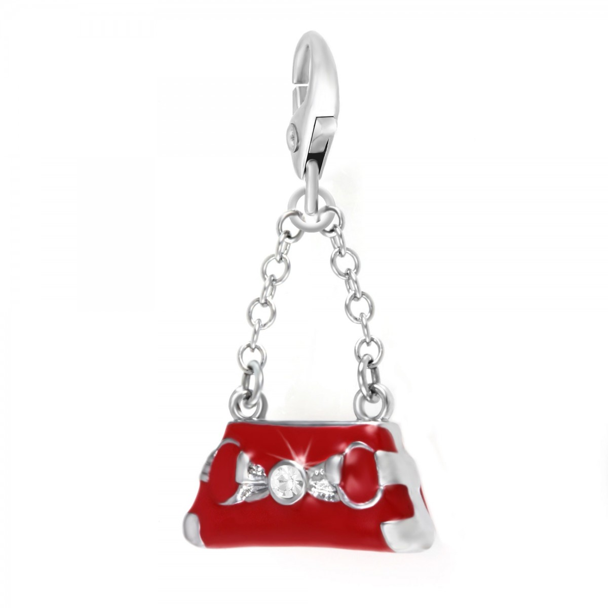 Charm sac à main So Charm made with Crystal from Swarovski