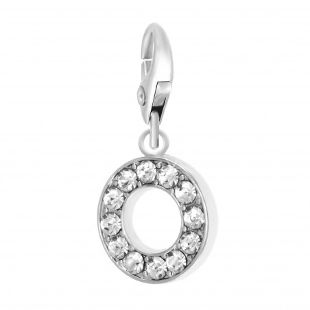 Charm Lettre O So Charm made with Crystal from Swarovski