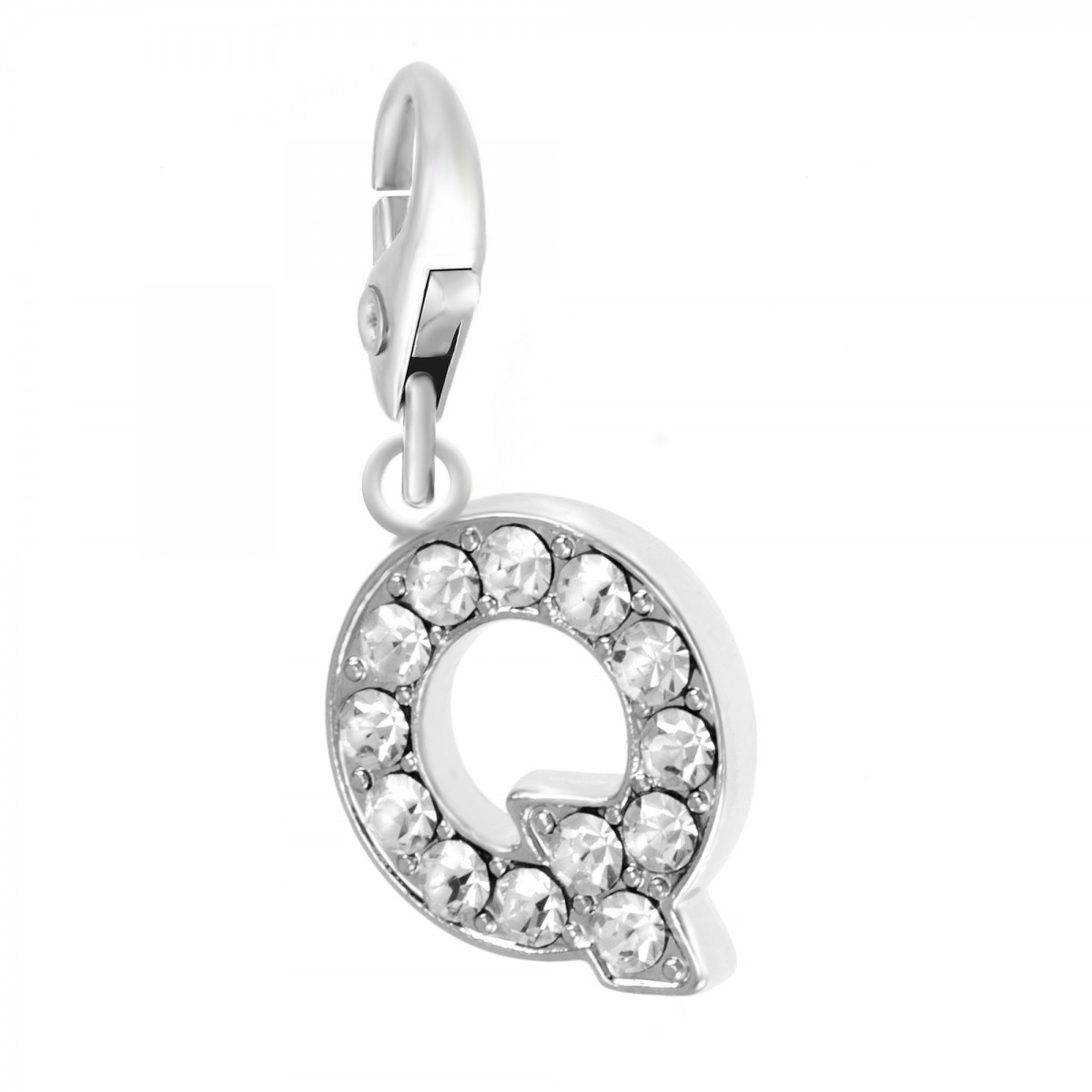 Charm Lettre Q So Charm made with Crystal from Swarovski