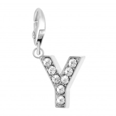 Charm Lettre Y So Charm made with Crystal from Swarovski