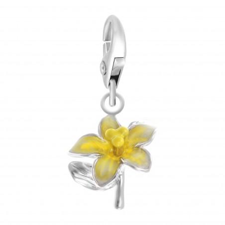 Charm fleur jaune So Charm