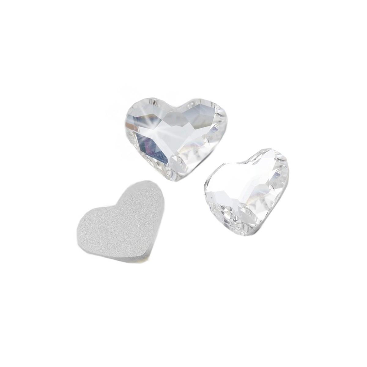 50 cristaux de swarovski à fond plat thermocollant