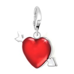 Charm coeur rouge So Charm