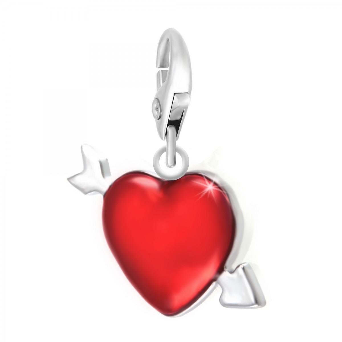 Charm coeur rouge So Charm