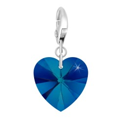 SoCharm blue heart SoCharm...