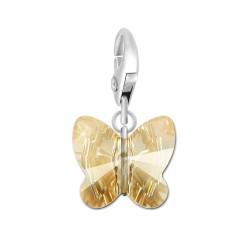 Charm papillon golden BR01...