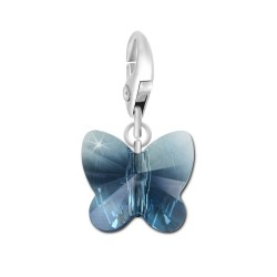 Charm papillon bleu So...