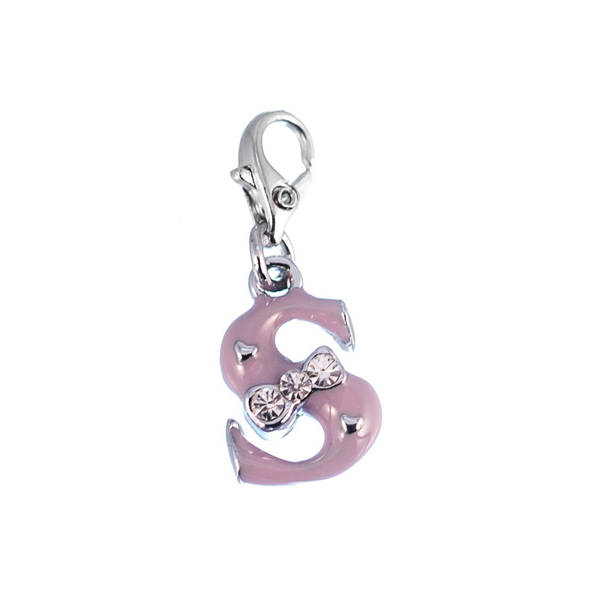 Charm Lettre S violet So Charm