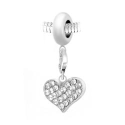 Charm perle BR01 en acier...