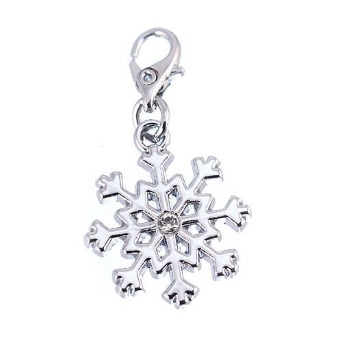 Charm Flocon de neige So Charm made with Crystal from Swarovski