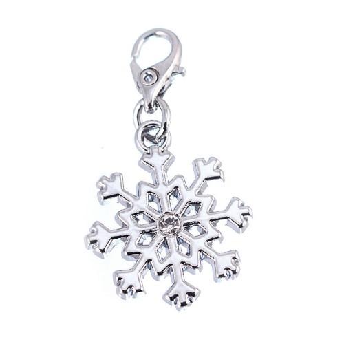 Charm Flocon de neige So Charm orné d'un cristal SWAROVSKI® ELEMENTS