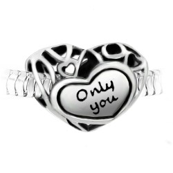 "Charm perle ""Only you""..."