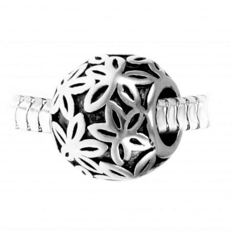 Charm perle ornemental acier par So Charm