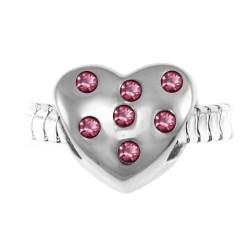 BR01 cuore con perle...