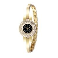 Montre femme bracelet métal doré So Charm made with crystal from Swarovski