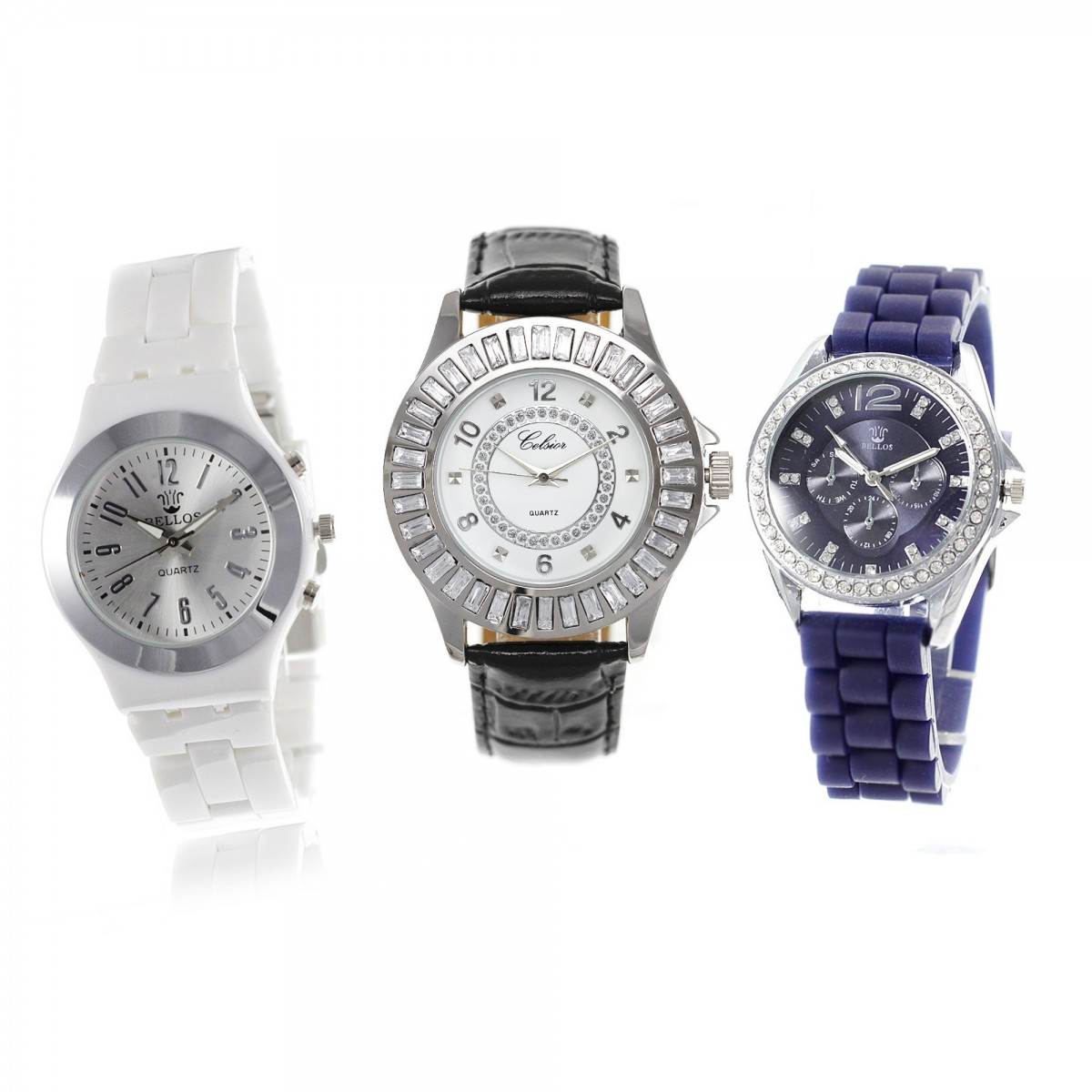 3 montres femme pour le prix d'1 !
