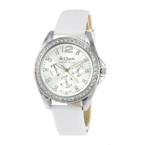 Montre femme luxe So Charm made with crystal from Swarovski