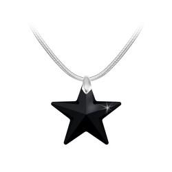 Collier étoile noire BR01...