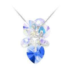 Collier coeur bleu So Charm...