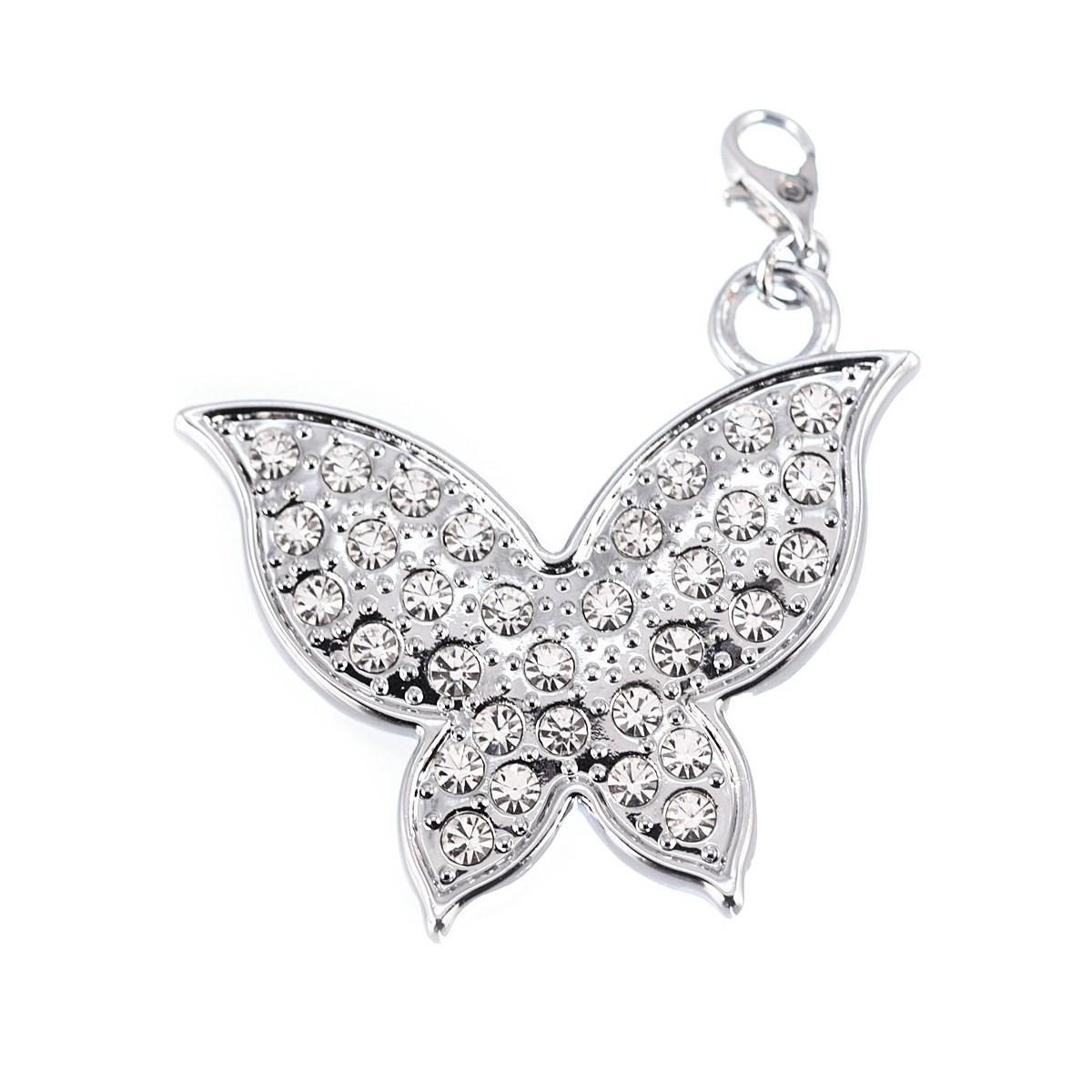 Charm Papillon strass XL So Charm