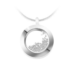 Collier rond So Charm orné...