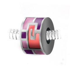 Pink pearl BR01 in steel by...