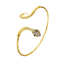 BR01 golden snake bracelet...
