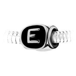 Charm perle lettre E en...