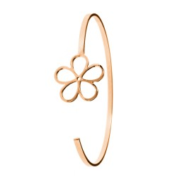 SoCharm rose gold flower...