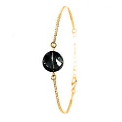 Bracelet doré So Charm orné...